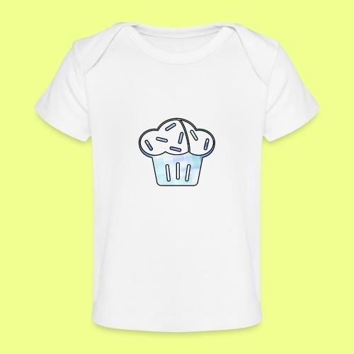 Pastel - Camiseta orgánica para bebé