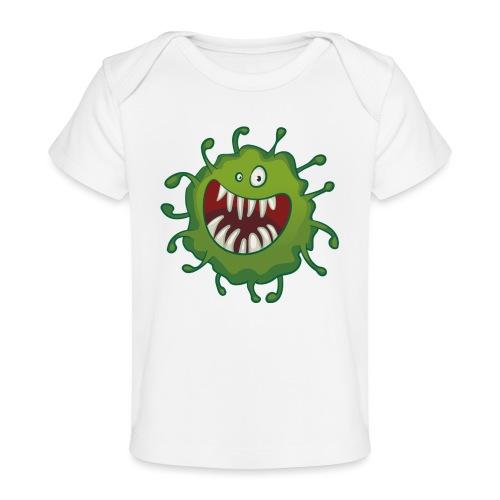 virus - Økologisk baby-T-skjorte