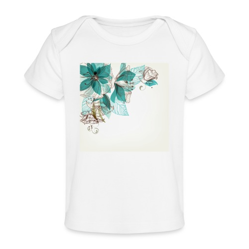 Tropical Flora - Organic Baby T-Shirt