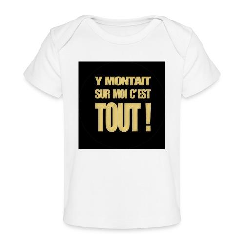 badgemontaitsurmoi - T-shirt bio Bébé