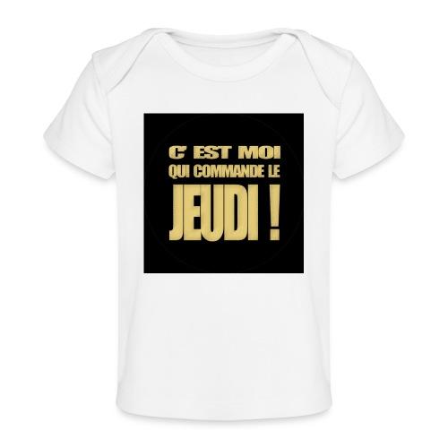 badgejeudi - T-shirt bio Bébé