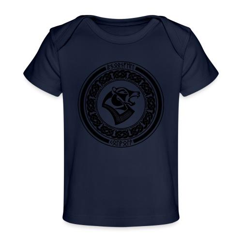 BjornfellRisingBlack - Vauvojen luomu-t-paita