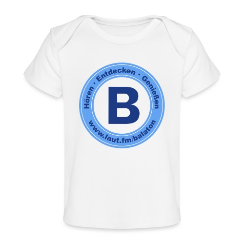 Webradio Balaton - Baby Bio-T-Shirt