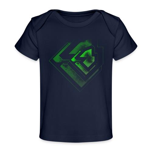 BRANDSHIRT LOGO GANGGREEN - Baby bio-T-shirt