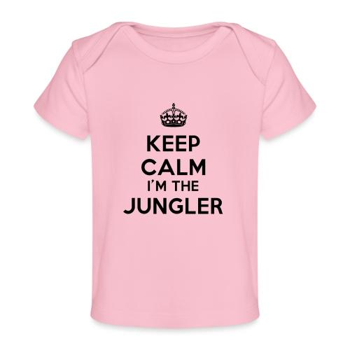 Keep calm I'm the Jungler - T-shirt bio Bébé