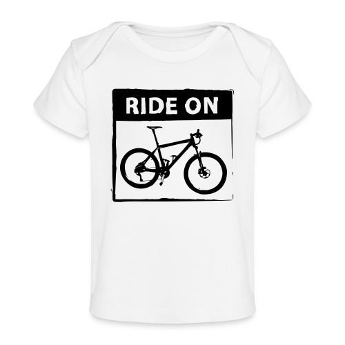 Ride On MTB 1 Color - Baby Bio-T-Shirt