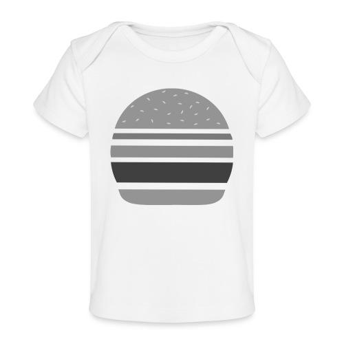 Logo_panhamburger_gris - T-shirt bio Bébé