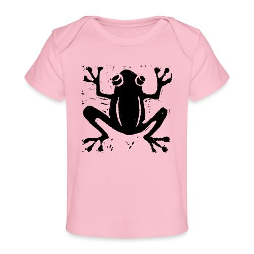 Crafty Wotnots Tree Frog - Organic Baby T-Shirt