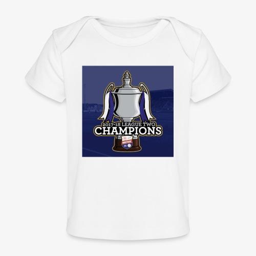 MFC Champions 2017/18 - Organic Baby T-Shirt