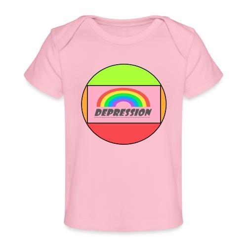 Depressed design - Organic Baby T-Shirt