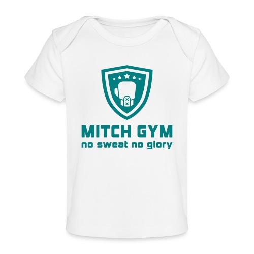 Logo_Mitch_Gym edit - Baby bio-T-shirt