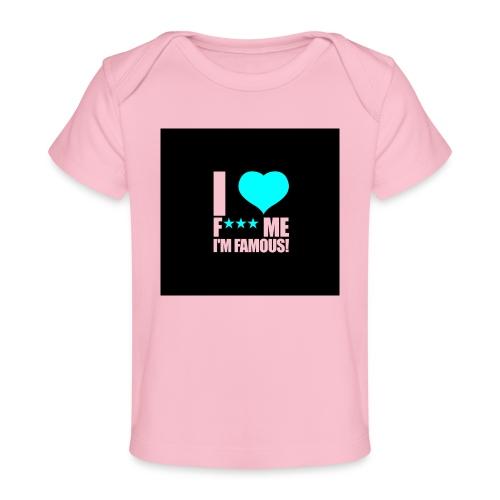 I Love FMIF Badge - T-shirt bio Bébé