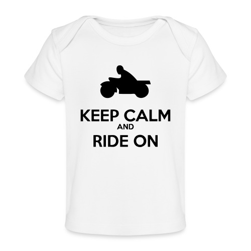 Keep Calm MC - Ekologisk T-shirt baby