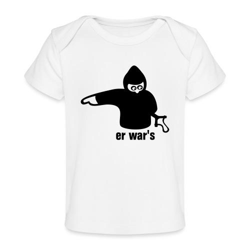 er war's - links - Baby Bio-T-Shirt