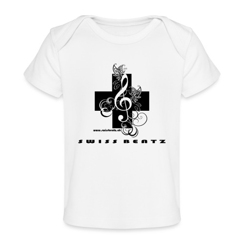 Swiss Beatz Logo with L - Baby Bio-T-Shirt