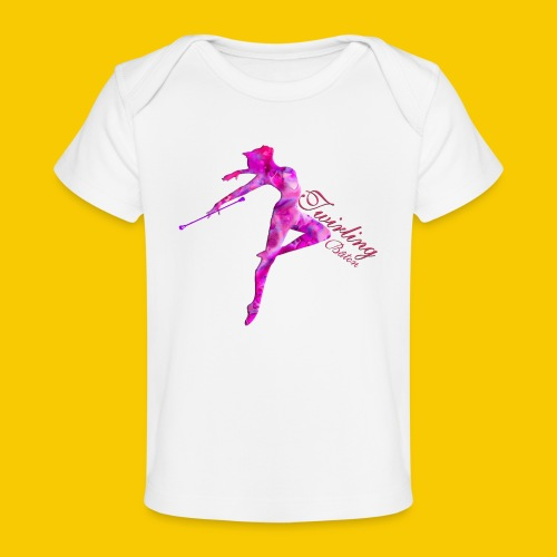 TWIRLING-BATON - T-shirt bio Bébé