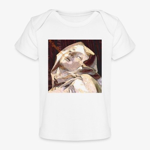 #OrgulloBarroco Teresa - Camiseta orgánica para bebé