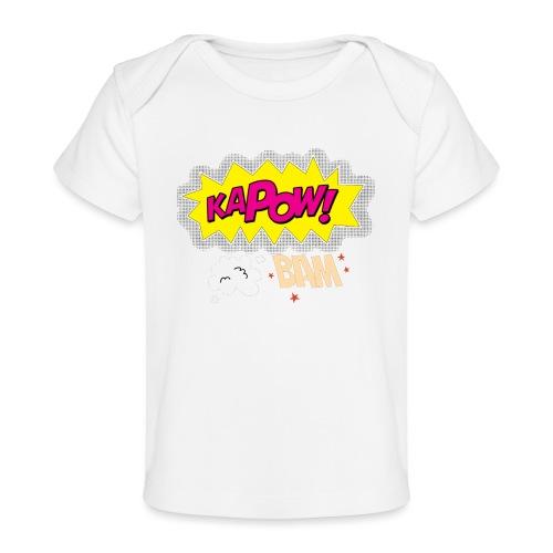 kaboum bam - T-shirt bio Bébé