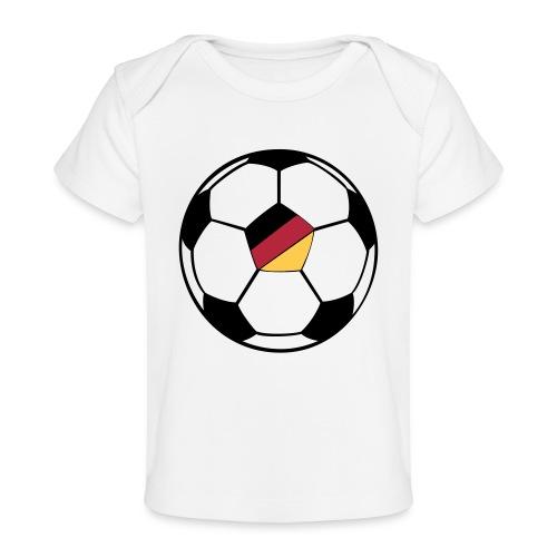 fussball deutschland - Baby Bio-T-Shirt