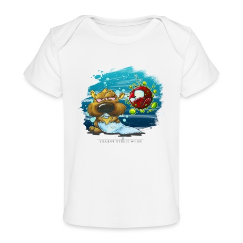 stay cool - and keep chasing toiletpaper - Baby Bio-T-Shirt