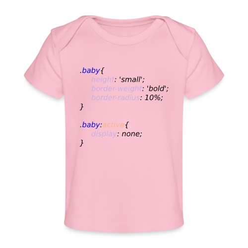 Baby with Style - Camiseta orgánica para bebé