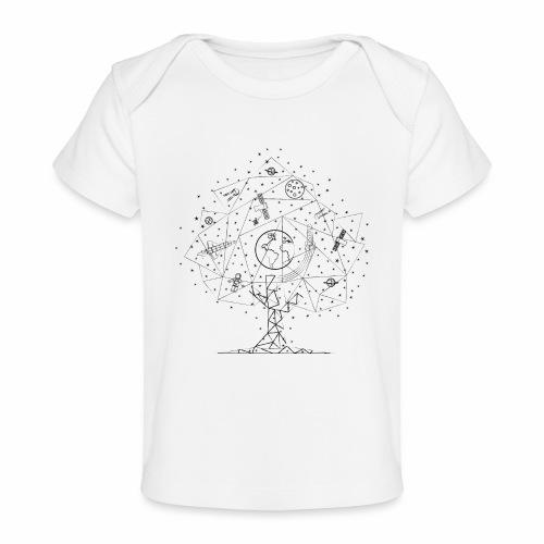 Interpretacja woodspace - Ekologiczna koszulka dla niemowląt