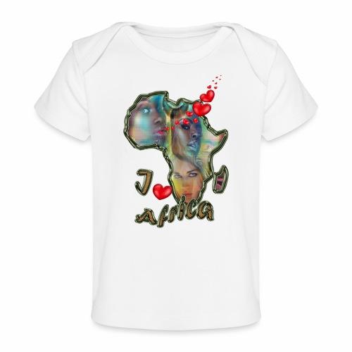 I love africa - Organic Baby T-Shirt
