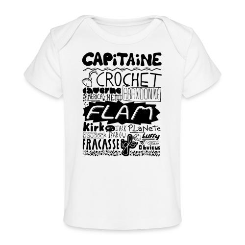 capitaine - T-shirt bio Bébé