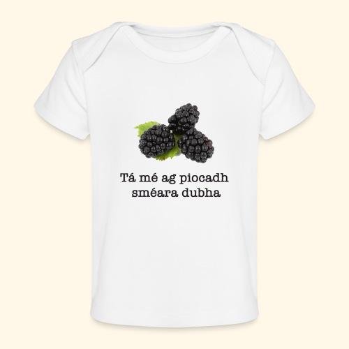 Picking blackberries - Organic Baby T-Shirt