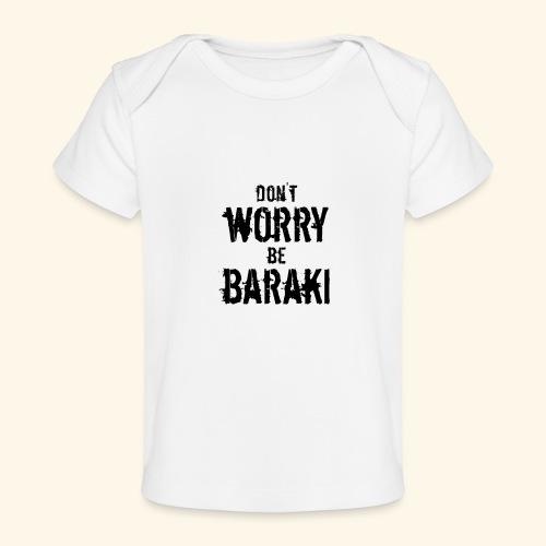 Be Baraki (Noir) - T-shirt bio Bébé
