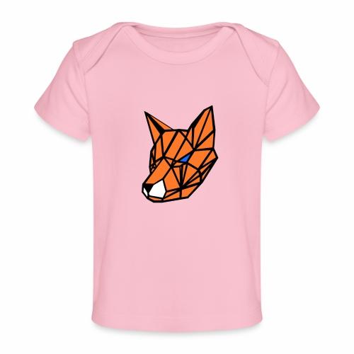 renard geometrique - T-shirt bio Bébé