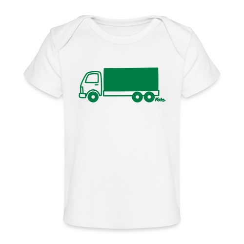 LKW lang - Baby Bio-T-Shirt