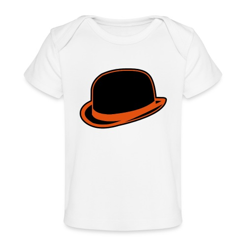 Horrorshow Orange Bowler Hat Melone Hut Clown Alex - Baby Bio-T-Shirt