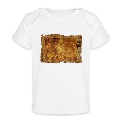map of the world 2241469 1920 - Baby Bio-T-Shirt