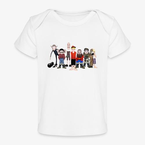 Askeladden og de gode hjelperne - Økologisk baby-T-skjorte