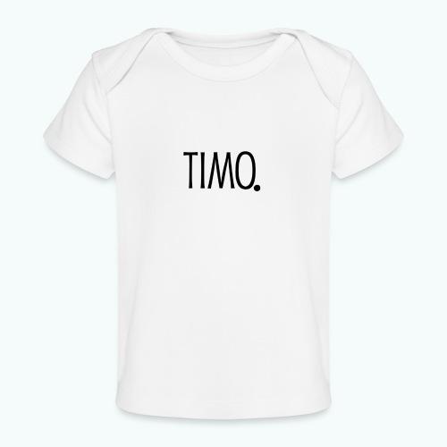 Ontwerp zonder achtergrond - Baby bio-T-shirt