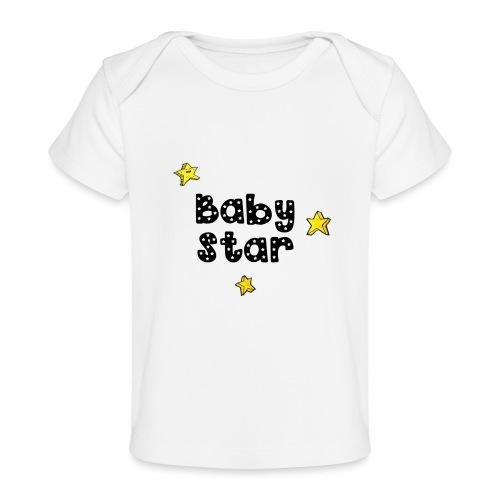 magicstars clip - Organic Baby T-Shirt