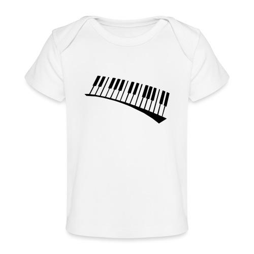 Piano - Camiseta orgánica para bebé