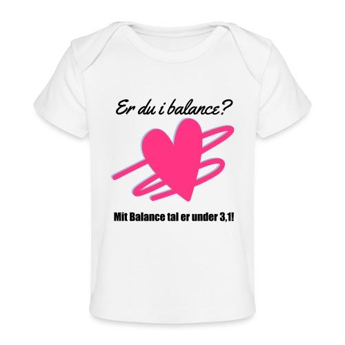 I Balance Design - Økologisk T-shirt til baby