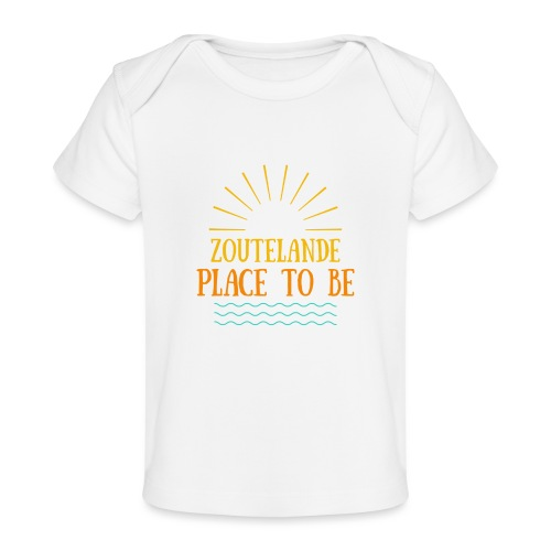 Zoutelande - Place To Be - Baby Bio-T-Shirt