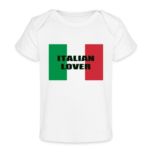 ITALIAN LOVER - Maglietta ecologica per neonato
