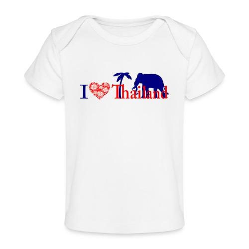I love Thailand - Organic Baby T-Shirt