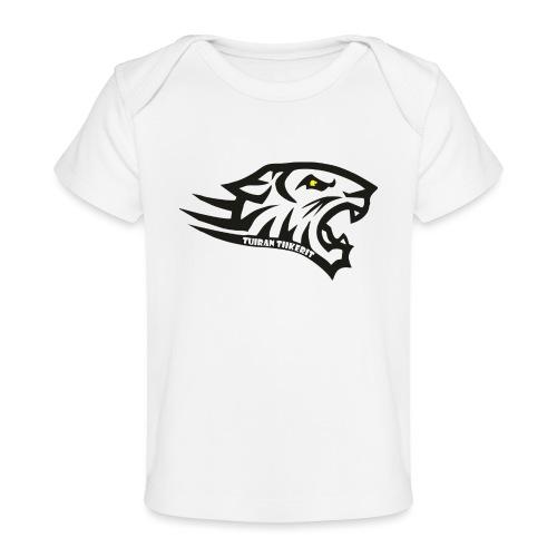 Tuiran Tiikerit tuoteperhe, pieni logo - Vauvojen luomu-t-paita