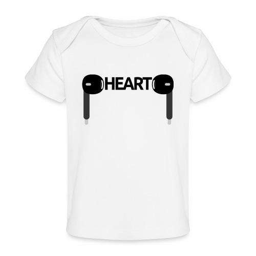 ListenToYourHeart - Ekologiczna koszulka dla niemowląt