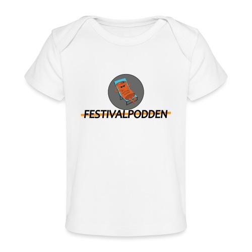 Festivalpodden - Loggorna - Ekologisk T-shirt baby