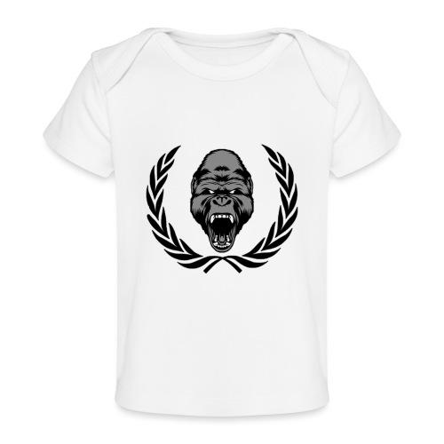 therealkingdomoficial - Camiseta orgánica para bebé