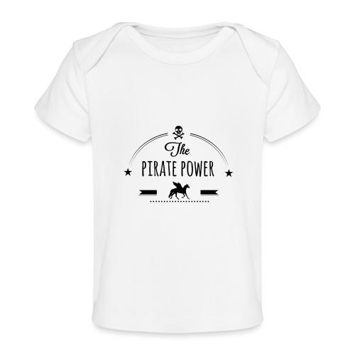 Pirate Power - T-shirt bio Bébé
