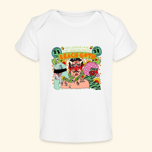 beach goth 2016 - T-shirt bio Bébé