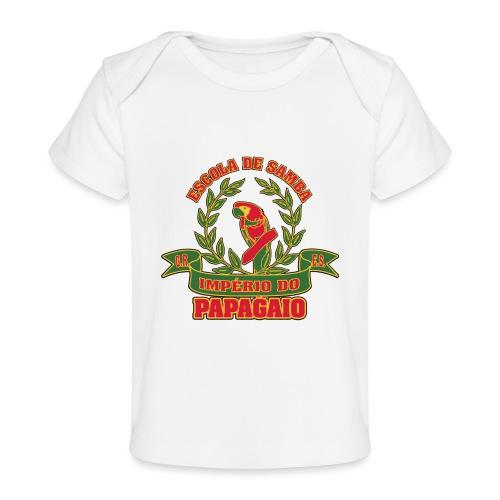 Papagaio logo - Vauvojen luomu-t-paita