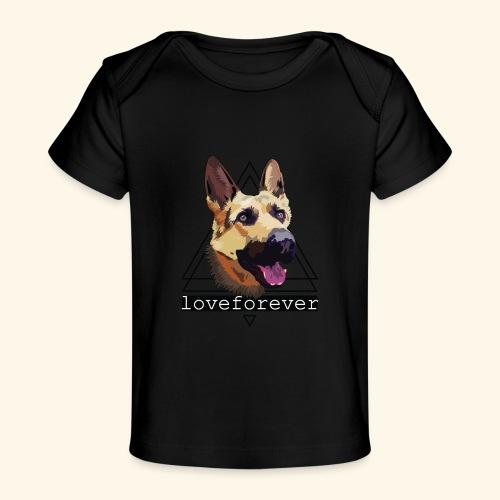 SHEPHERD LOVE FOREVER - Camiseta orgánica para bebé